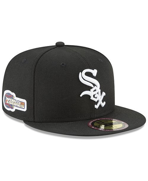 ... New Era Chicago White Sox Ultimate Patch Collection World Series 2.0  59Fifty Fitted Cap ... 011c30b7f0