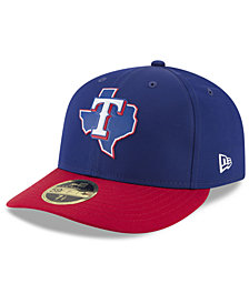 New Era Texas Rangers Low Profile Batting Practice Pro Lite 59FIFTY Fitted Cap