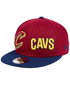 Cleveland Cavaliers Double Whammy 9FIFTY Snapback Cap
