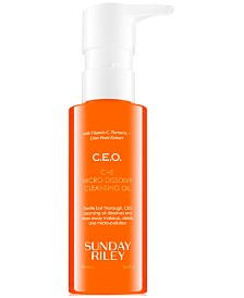 Sunday Riley C.E.O. C+E Micro-Dissolve Cleansing Oil, 3.4 fl. oz.