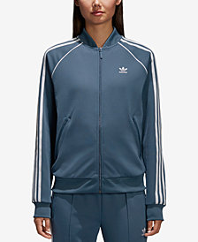adidas Originals adicolor Superstar Three-Stripe Track Jacket
