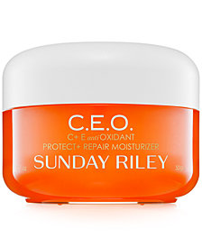 Sunday Riley C.E.O. C+E Antioxidant Protect + Repair Moisturizer, 1.7-oz.