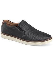 Johnston & Murphy Men's Walden Embossed Slip-On Sneakers