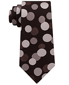 Sean John Men's Exploded Dot Silk Tie