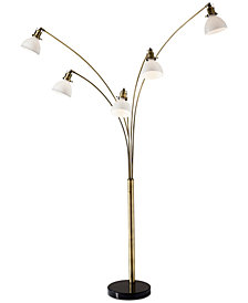 Adesso Spencer Arc Floor Lamp