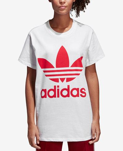 adidas Originals adicolor Cotton Relaxed Trefoil T-Shirt