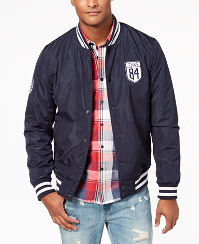 American Rag Men's Varsity Jacket, Created for Macy's