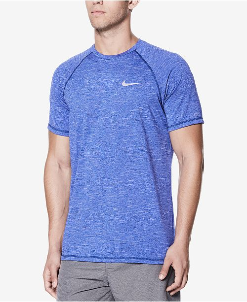 9788ac448 Nike Men's Hydroguard Swim Shirt & Reviews - Swimwear - Men - Macy's