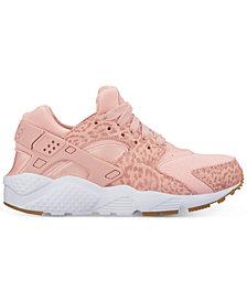 Nike Big Girls' Air Huarache Run SE Running Sneakers from Finish Line