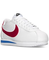 c34329a085292 Nike Women's Classic Cortez Leather Casual Sneakers from Finish Line