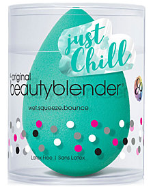 Bubble blender Chill + the Deluxe Mini Liquid Cleanser at $20 with the purchase of any foundation!