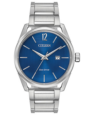 Drive From Citizen Eco Drive Men's Stainless Steel Bracelet Watch 42mm by Citizen