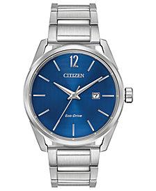 Citizen Drive From Citizen Eco-Drive Men's Stainless Steel Bracelet Watch 42mm