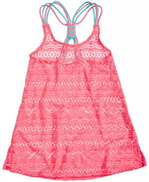 Malibu Crochet Cover Up Big Girls (716)