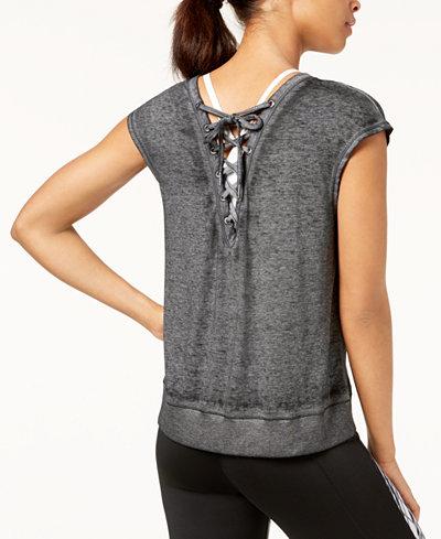 Calvin Klein Performance Drop-Shoulder Icy Wash T-Shirt