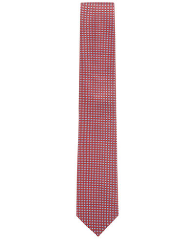 BOSS Men's Nailhead Silk Tie