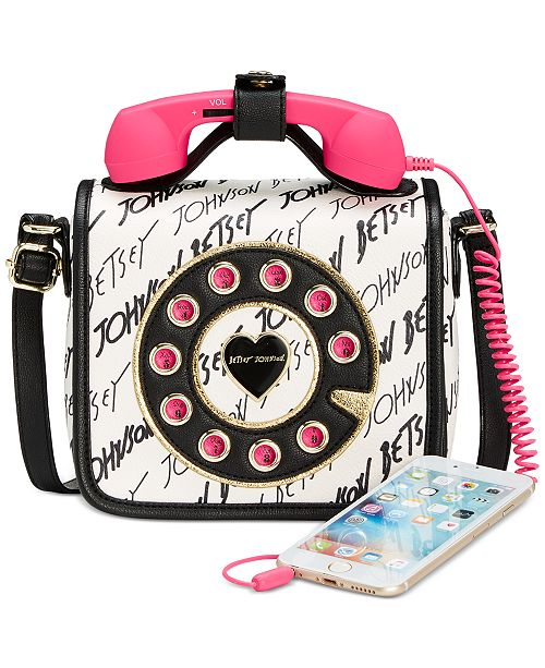 30cc49c19 Betsey Johnson Mini Phone Crossbody; Betsey Johnson Mini Phone Crossbody ...