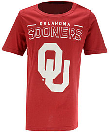 Outerstuff Oklahoma Sooners Straight Pass T-Shirt, Big Boys (8-20)