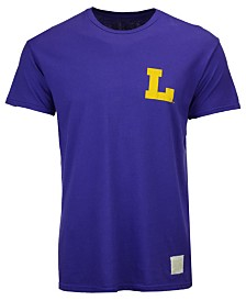 Retro Brand Men's LSU Tigers Double Sided T-Shirt