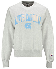 Champion Men's North Carolina Tar Heels Reverse Weave Crew Sweatshirt