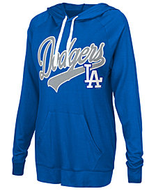 G-III Sports Women's Los Angeles Dodgers Pre-Game Hoodie