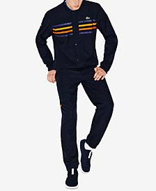 Lacoste Men's Sports Diamond Taffeta Track Suit
