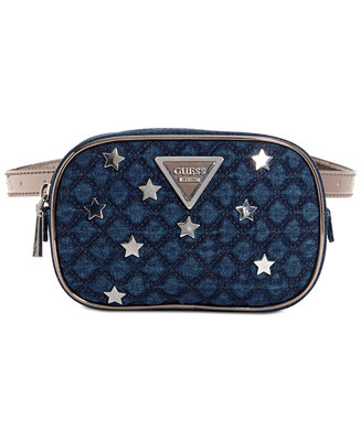 71371559e8 GUESS Varsity Pop Belt Bag   Reviews - Handbags   Accessories - Macy s
