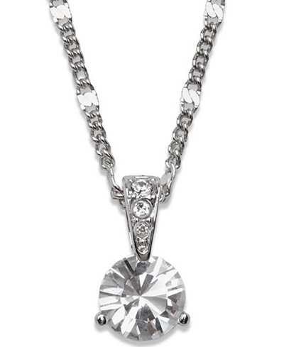 Swarovski necklace solitaire crystal pendant jewelry watches swarovski necklace solitaire crystal pendant aloadofball Images