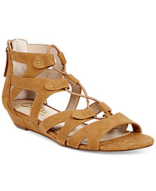 Callisto Lexx Gladiator Wedge Sandals