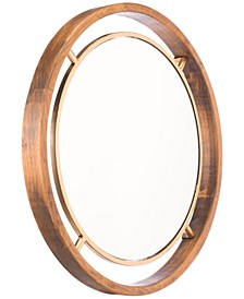 Round Floating Mirror