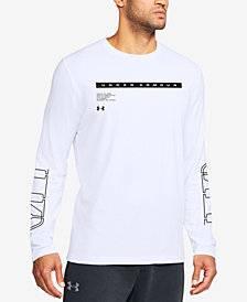 Under Armour Men's Charged Cotton® Graphic Long-Sleeve T-Shirt