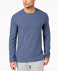 Tasso Elba Men's Medallion Sweater, Created for Macy's