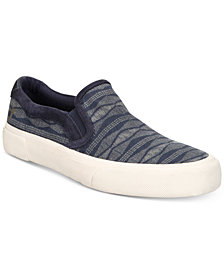Frye Men's Ludlow Canvas Printed Slip-On Sneakers