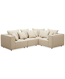 Rainshire 4-Pc. Performance Fabric Modular Sectional, Created For Macy's