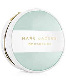 Receive a Complimentary Pouch with any large spray purchase from the MARC JACOBS Decadence fragrance collection