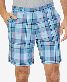 "Nautica Men's Classic-Fit Plaid 8.5"" Shorts"
