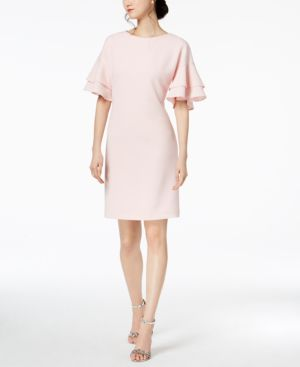 Jessica Howard Tiered-Sleeve Shift Dress 5342014