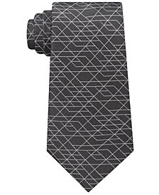 Calvin Klein Men's Geo Optics Silk Tie