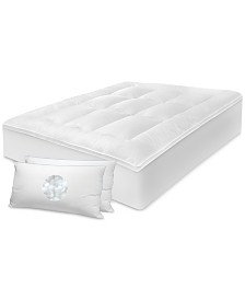 "SensorGel 3"" Any Position Mattress Topper & Pillow Sets"