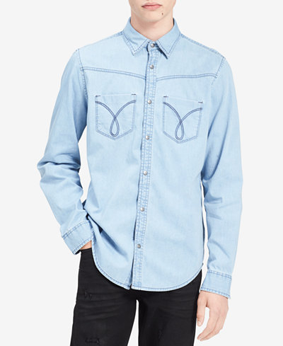 Calvin Klein Jeans Men's Omega Denim Shirt