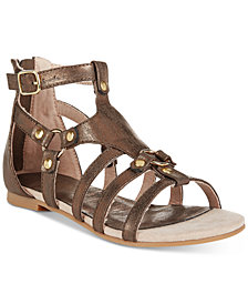 Kenneth Cole Reaction Kiera Ring Sandals, Little Girls (11-3) & Big Girls (3.5-7)