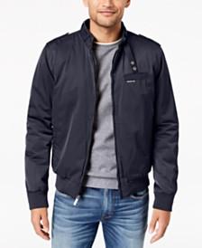 Members Only Men's Classic Zip-Front Jacket