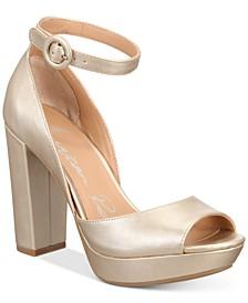 Reeta Block-Heel Platform Sandals, Created for Macy's