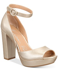 American Rag Reeta Block-Heel Platform Sandals, Created for Macy's