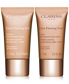 Receive a FREE Extra Firming Duo with $99 Clarins purchase