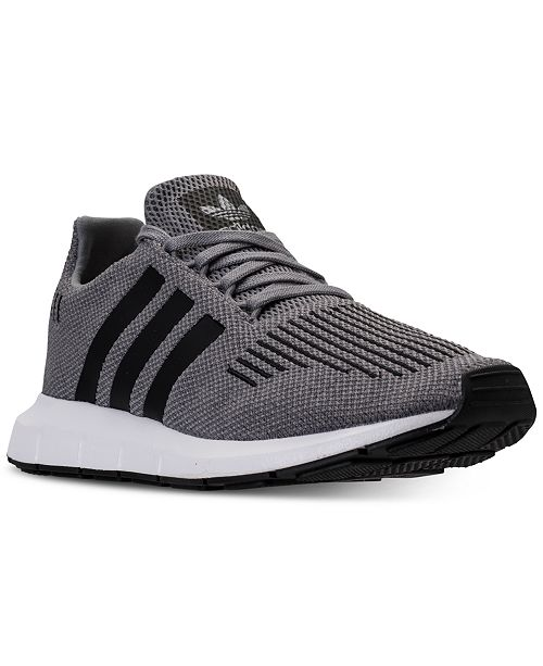 adidas Men s Swift Run Casual Sneakers from Finish Line   Reviews ... 0ca4b2e0b