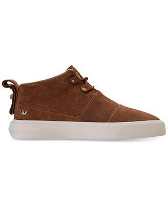 Supra Chaussures Chaussures CHARLES Brown bone Supra soldes