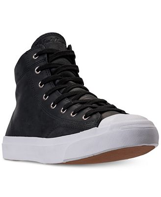 Converse Men's Jack Purcell High Top Casual Sneakers from Finish Line
