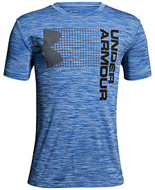 Under Armour Logo-Print T-Shirt, Big Boys