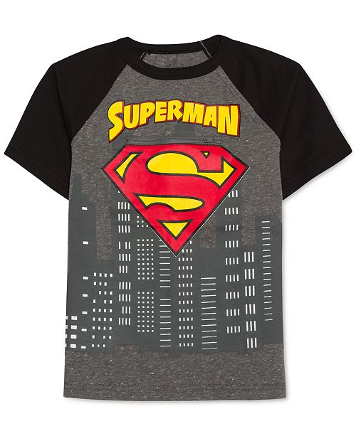 299038872 Superman DC Comics® Graphic-Print T-Shirt, Little Boys & Reviews ...